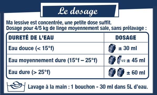 dosage-lessive