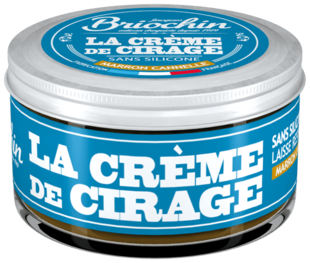 La crème de cirage marron cannelle