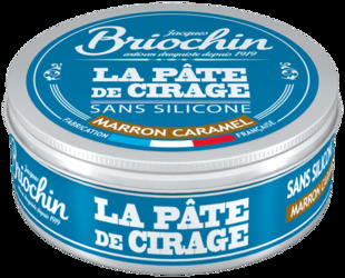 Pâte de cirage Marron Caramel